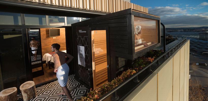 Terrace Suite Private Spa: experiencias únicas de bienestar inspiradas en Finlandia
