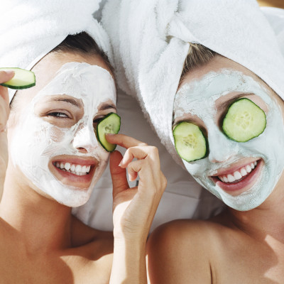 Cucumber-face-mask
