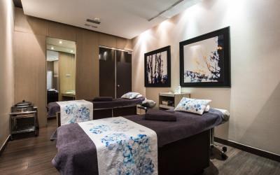 5 cabinas de tratamientos